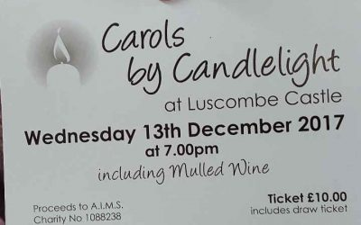 Carol Concert at Luscombe Church Wednesday 13th December 2017