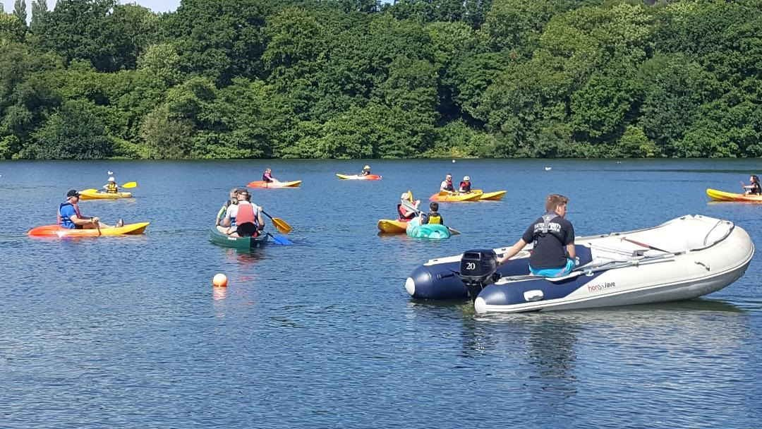 Kayaking at Decoy 30th June 2018