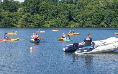 Kayaking at Decoy 30th June 2018