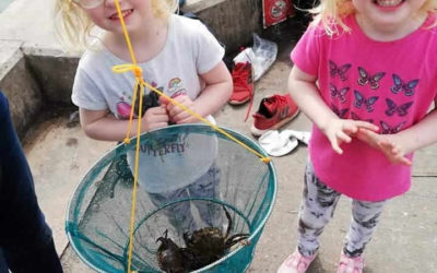 Beach Day and Crabbing 29th June 2019